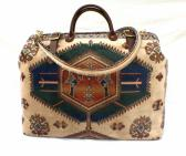 Carpet Bag Kazak Weekender Bag