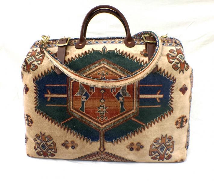 Carpet Bag Kazak Weekender Bag
