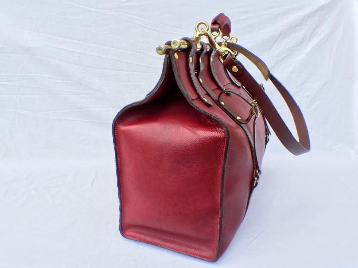 The Mycroft Leather Travel Bag Handmade in England