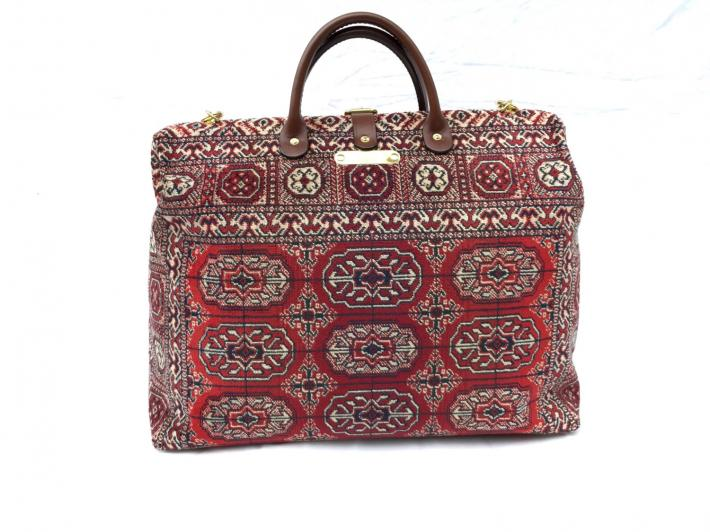 Carpet Bag Bokhara Red Medium
