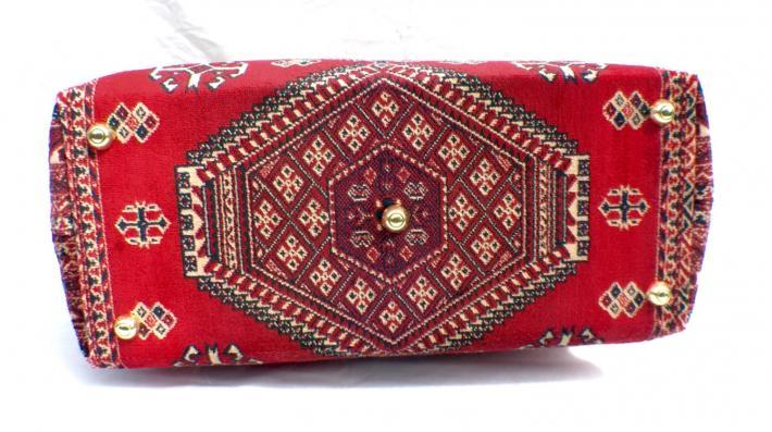 Carpet Bag Red Kazak
