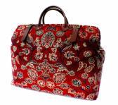 Carpet Bag Red Zeigler Large