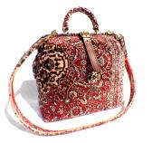 Carpet Shoulder Bag Red Medallion
