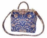 Carpet Bag Blue Agra Shoulder Bag