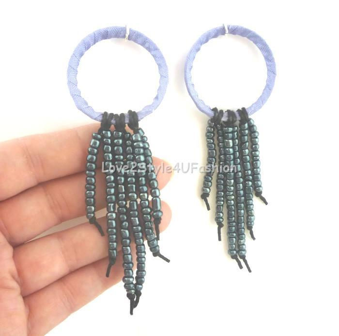 Purple Chandelier Earrings Waterfall Earrings Sexy Earrings Lilac Violet Earrings Chandelier Earrings Multi Bead Earrings
