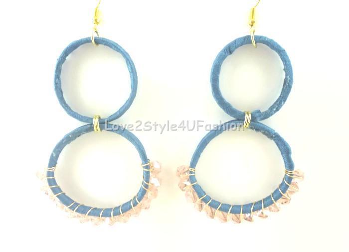 Big Dangle Earrings Hoop Earrings Chandelier Earrings Mismatched Earrings Long Earrings Staple Earrings Boho Earrings Modern Earrings
