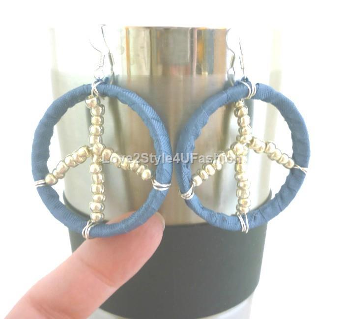 Peace Sign Earrings Retro Peace Earrings Peace Sign Jewelry Boho Earrings Hippie Earrings Peace Jewelry Peace Gift Gifts For Her