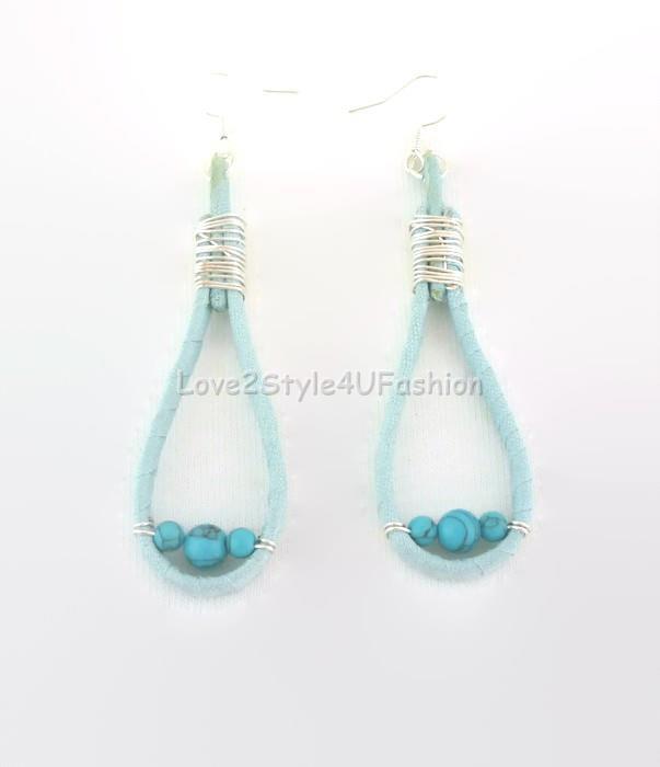 Turquoise Chandelier Earrings Turquoise Boho Earrings Turquoise Earrings Staple Earrings Chandelier Earrings Dangle Earrings Exotic