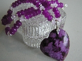 Purple Hearted Necklace