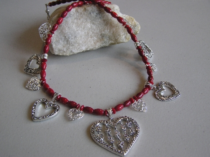 Many Hearts for You Necklace