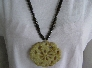 Story Teller Carved Jade Long Necklace