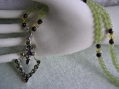 Summer Love   Peridot Garnets Citrine Necklace
