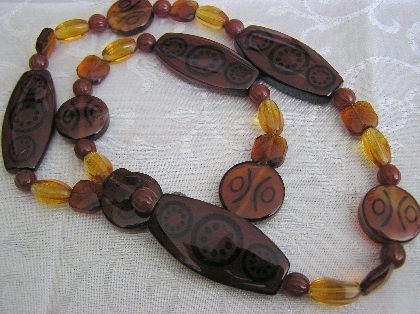 Sweet Sweet Amber   Vintage Amber Necklace