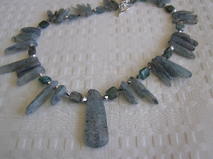 Got the Blues Kyanite Necklace