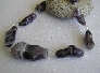 Pretty in Purple Necklace of Huge Amethyst Chunks