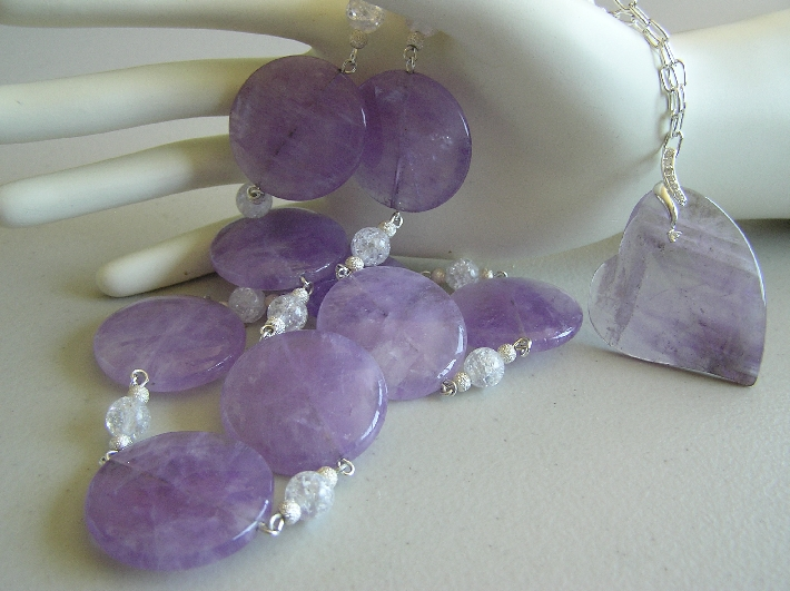 Going to The Cape   Cape Amethyst Necklace