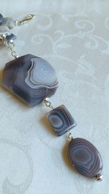 Beautiful Botswana    Botswana Agate Necklace