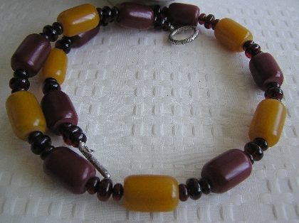 Tears of a Princess   Cherry Baltic Amber Necklace
