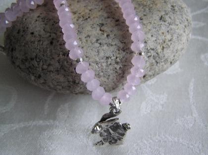 Peter Cotton Tail Rabbit Necklace