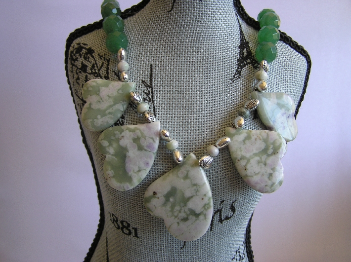 Green with Envy         Emerald Necklace