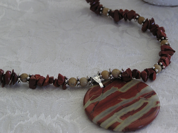 Red River Red River Jasper Pendant Necklace