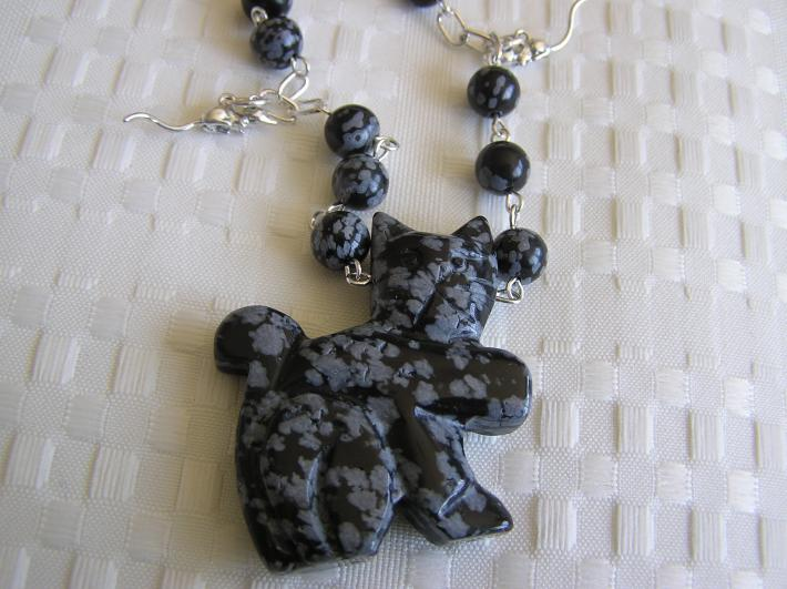 Cat and Mouse Chase        Cat Necklace