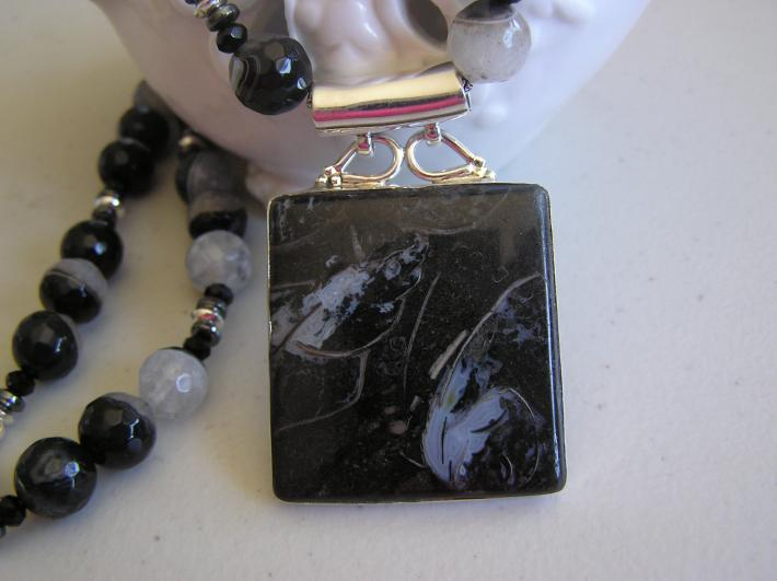 Hidden in Plain View          Galaxy Jasper Necklace