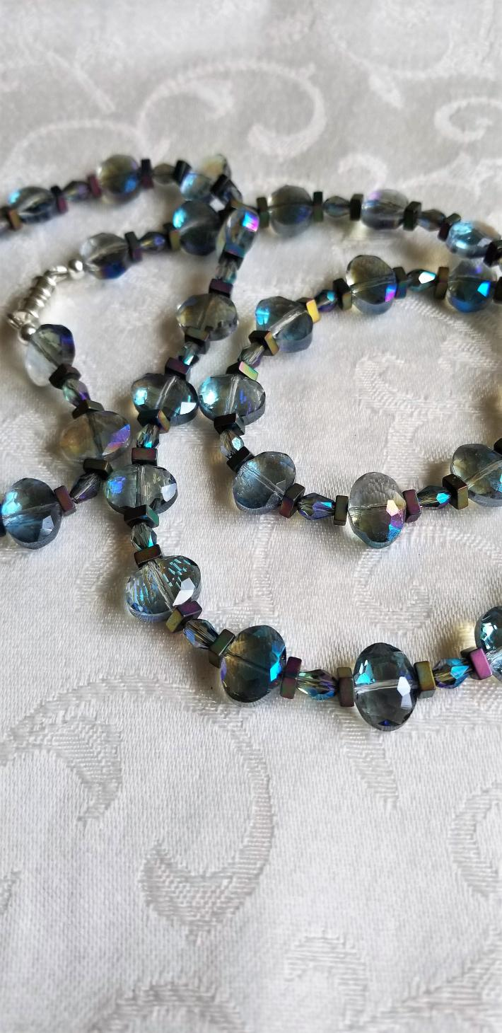Bubbles in the Ocean                              Seahorse Necklace