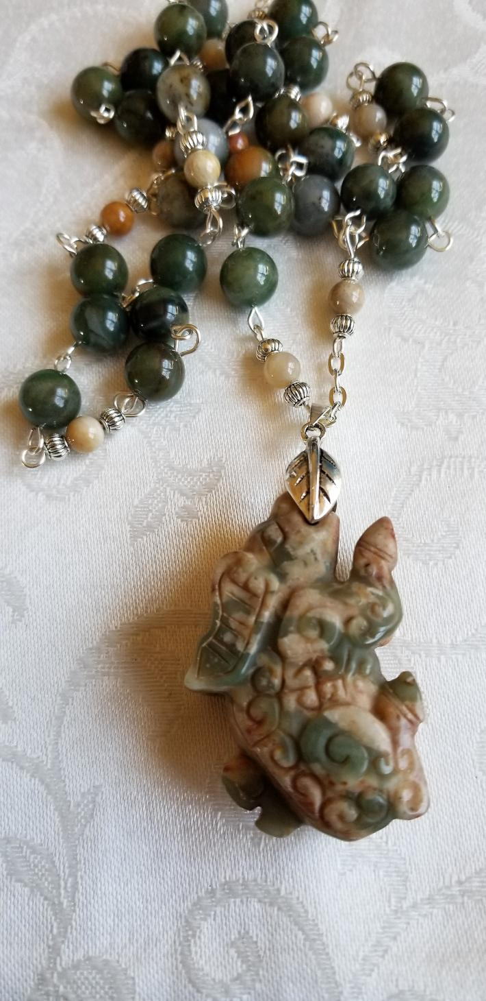 The Year of The Pig                                  Chinese New Year Necklace