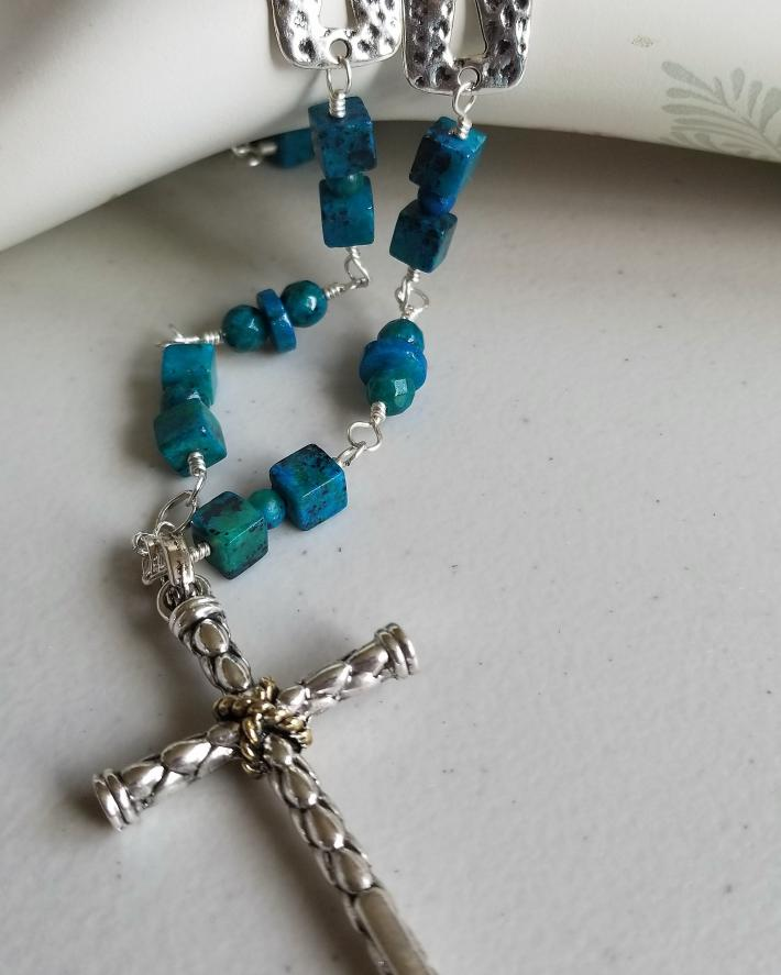 Peace of the Cross                Cross Necklace