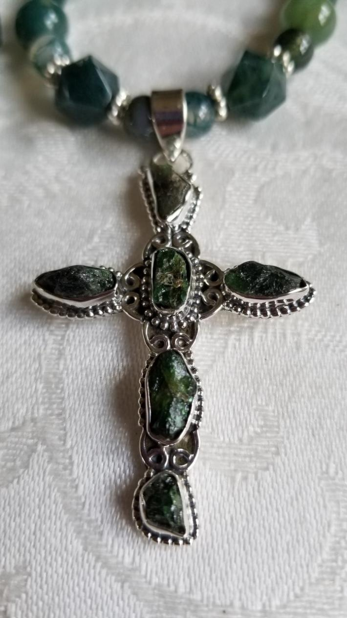 Stone of Opportunities                                Cross Necklace