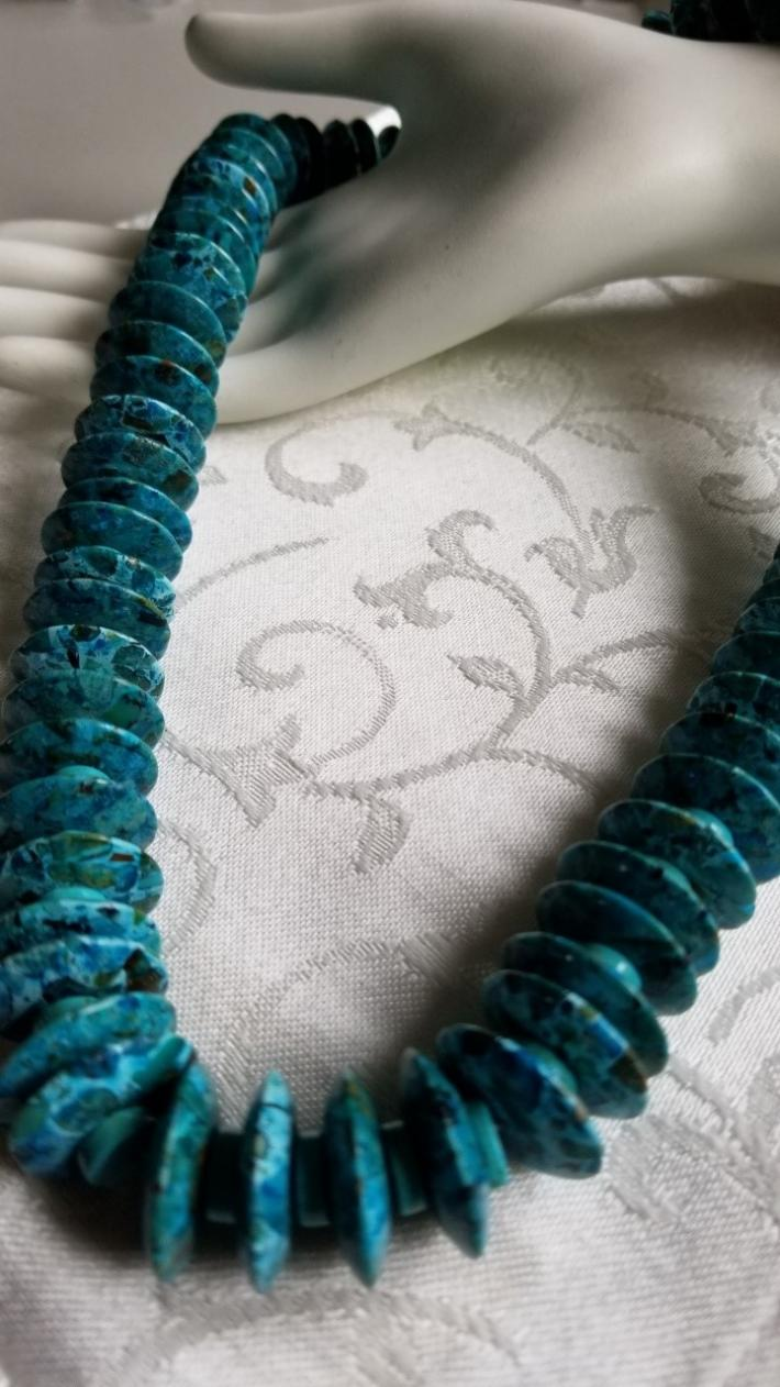 Turquoise at Its Best                                            Turquoise Necklace