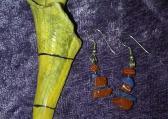 sodalite and goldstone dangles
