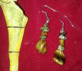 Tiger Eye Dangles