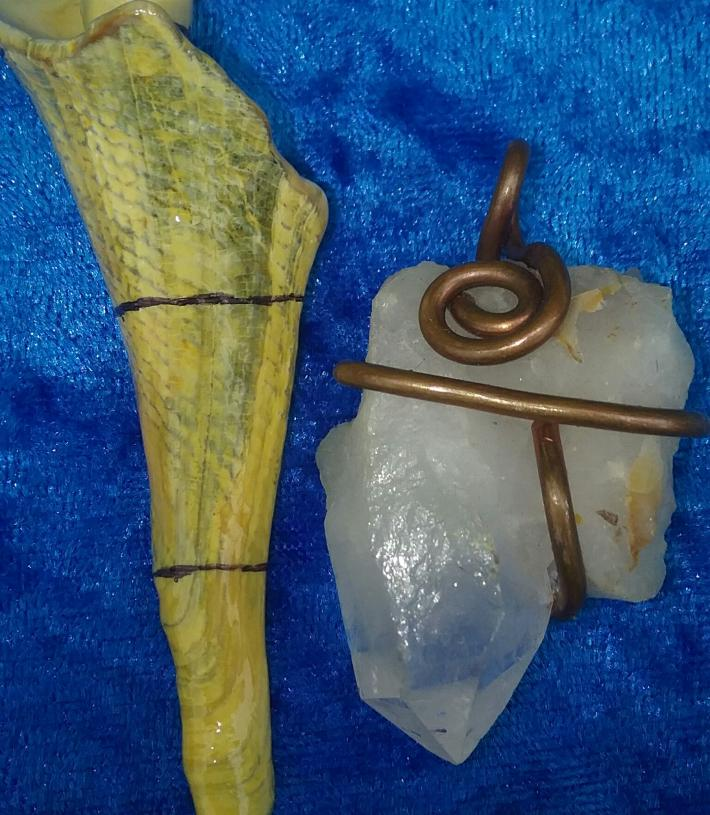 Arkansas Quartz Pendant