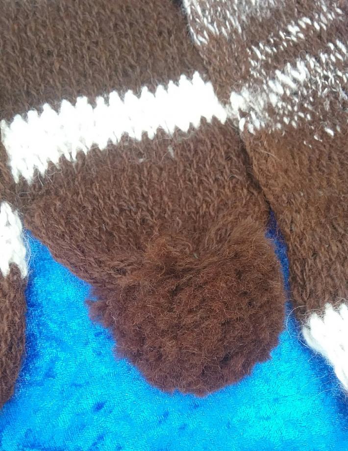 Alpaca Knit Scarf