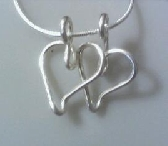 Signature Double Heart Pendant