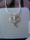 Signature Single Heart Necklace