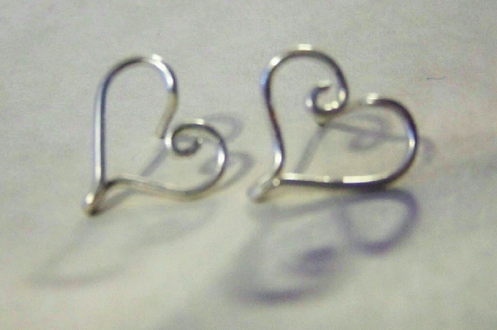 Signature Floating Hearts Earrings