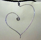Signature Floating Heart Pendant