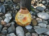 MAPLE LEAF AUTUMN VASE