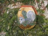 Tree Squirrel Gourd vase