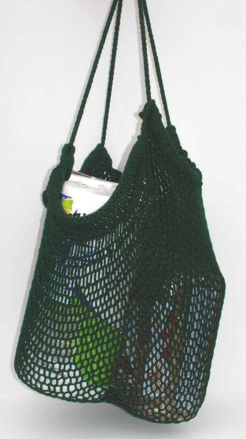 Knit Mesh Shopping Bag