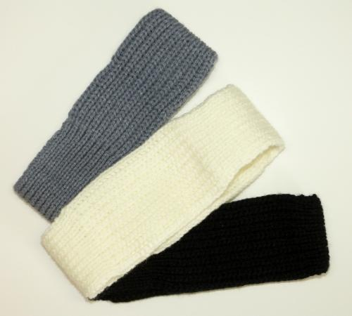 Warm Knitted Headband or Ear Warmer