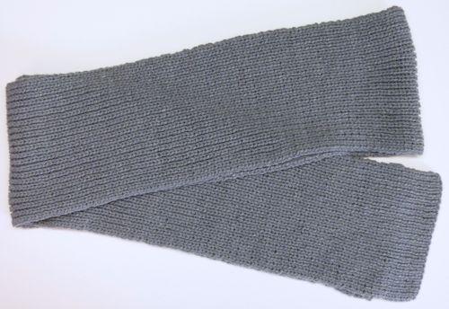 Warm Knitted Rib Scarf