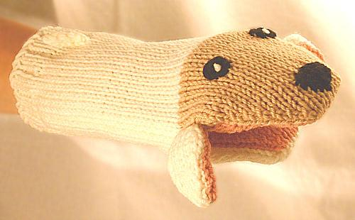Knit Animal Puppet Pattern
