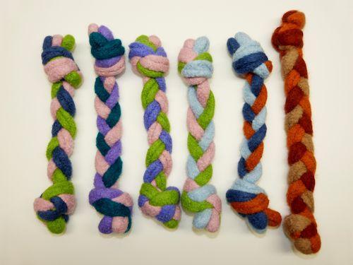 Felted Wool Tug Toy