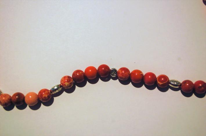 Imperial Red Jasper and Sodalite