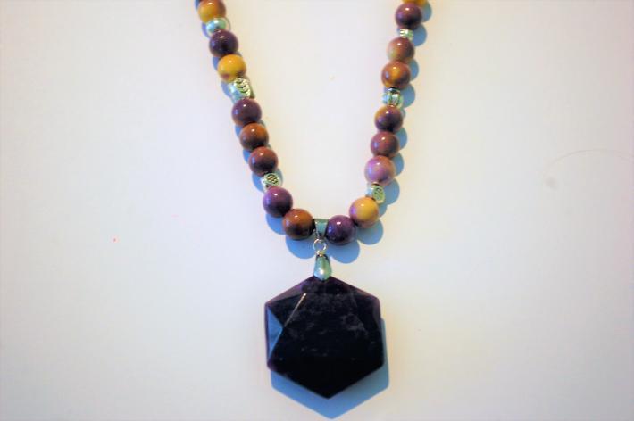 Amethyst Jade Necklace