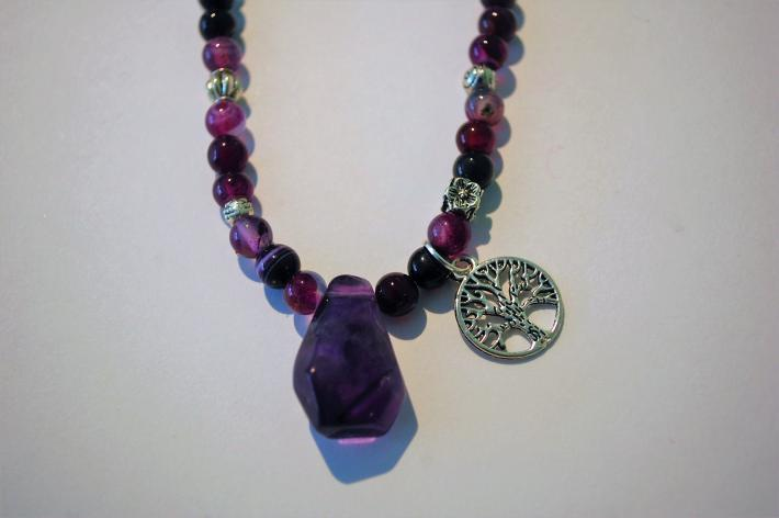 Dragon Veined Agate Necklace